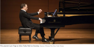 Lars Vogt – Alice Tully Hall – New York Times