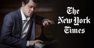 BENJAMIN GROSVENOR INTERPRETA PARA EL NEW YORK TIMES