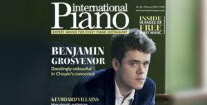 BENJAMIN GROSVENOR – PORTADA DE INTERNATIONAL PIANO